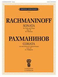 Sergei Rachmaninov: Sonata, Opus19 for Cello and Piano