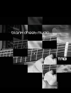 Blank Sheet Music: TAB