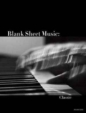Blank Sheet Music: Classic