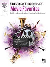 Bill Galliford: Solos/Duets/Trios Wind Movie TN/BARI/BSN