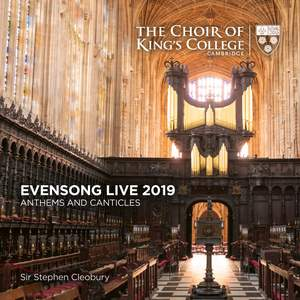 Evensong Live 2019: Anthems and Canticles Product Image