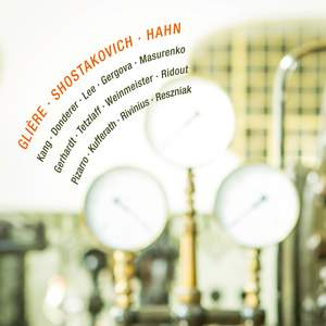 Glière, Shostakovich & Hahn Product Image