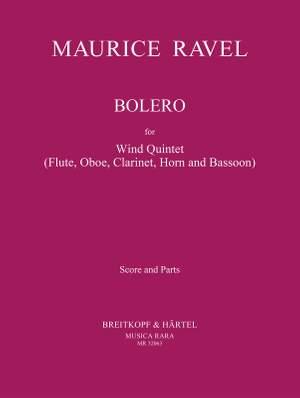 Ravel, Maurice: Bolero
