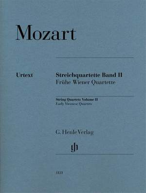 Mozart, W A: String Quartets, Volume II Band 2