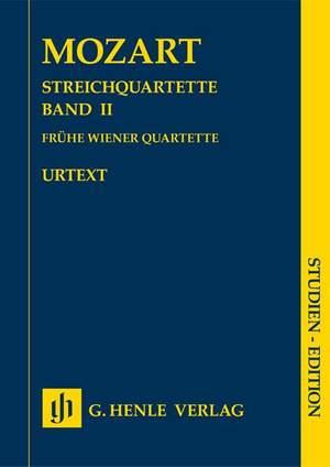 Mozart, W A: String Quartets, Volume II