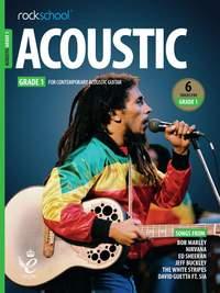 Rockschool Acoustic Guitar Grade 1 - (2019)
