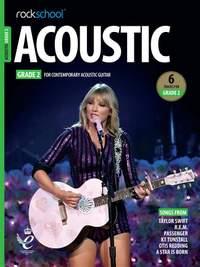 Rockschool Acoustic Guitar Grade 2 - (2019)