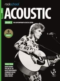 Rockschool Acoustic Guitar Grade 3 - (2019)