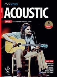 Rockschool Acoustic Guitar Grade 5 - (2019)