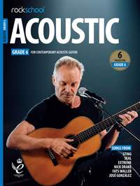 Rockschool Acoustic Guitar Grade 6 - (2019)