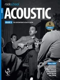 Rockschool Acoustic Guitar Grade 8 - (2019)
