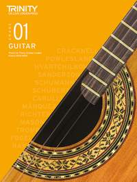 Trinity College London Classical Guitar Grade 1 2020-2023