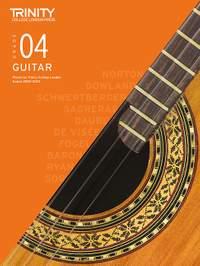 Trinity College London Classical Guitar Grade 4 2020-2023