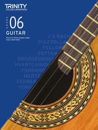Trinity College London Classical Guitar Grade 6 2020-2023