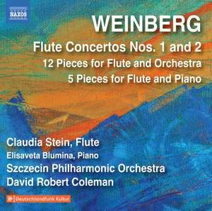 Weinberg: Flute Concertos Nos. 1 & 2