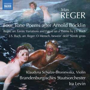 Max Reger: Four Tone Poems after Arnold Böcklin Product Image