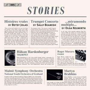 Stories: Works by Betsy Jolas, Sally Beamish and Olga Neuwirth