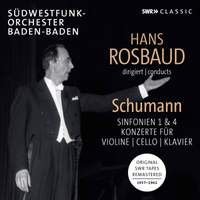 Hans Rosbaud conducts Schumann