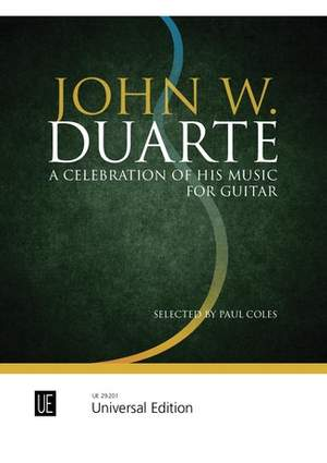 John W. Duarte – A Celebration of His Music for guitar
