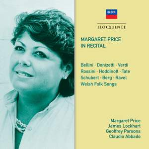Margaret Price: In Recital