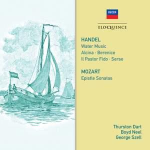 Handel: Water Music & Mozart: Epistle Sonatas Product Image