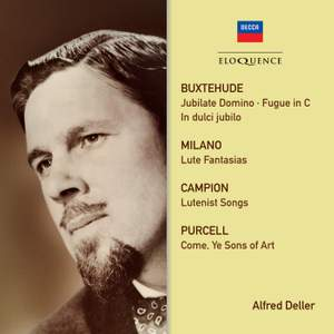 Alfred Deller - Campion, Purcell, Buxtehude Product Image