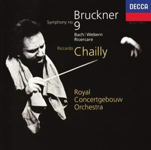 Bruckner: Symphony No. 9 & Bach/Webern: Ricercare Product Image