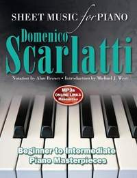 Domenico Scarlatti: Sheet Music for Piano: Intermediate to Advanced