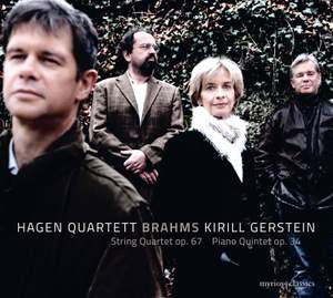 Brahms: String Quartet Op. 67 and Piano Quintet Op. 34 Product Image