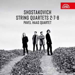 Shostakovich: String Quartets Nos. 2, 7 and 8