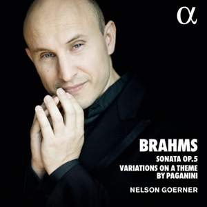 Brahms: Sonata Op. 5 & Variations of a Theme by Paganini