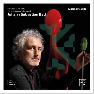 JS Bach: Sonatas for solo violoncello piccolo Product Image