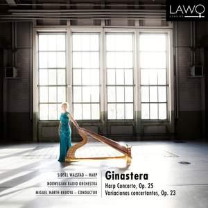 Ginastera: Harp Concerto, Op. 25 & Variaciones concertantes, Op. 23 Product Image