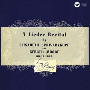 A Lieder Recital