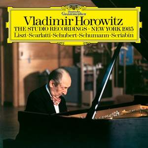 Horowitz - The Studio Recordings · New York 1985 - Vinyl Edition