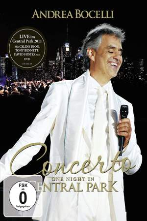 Live in Central Park (dvd)