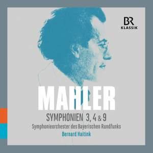 Mahler: Symphonies Nos. 3, 4 & 9 (Live)