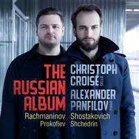 The Russian Album: Cello Sonatas By Rachmaninov & Shostakovich