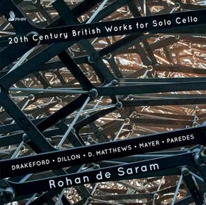 20th Century British Works For Solo Cello Product Image