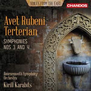 Avet Rubeni Terterian: Symphony Nos. 3 and 4 Product Image
