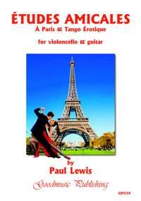 Paul Lewis: Etudes Amicales (cello+guitar)