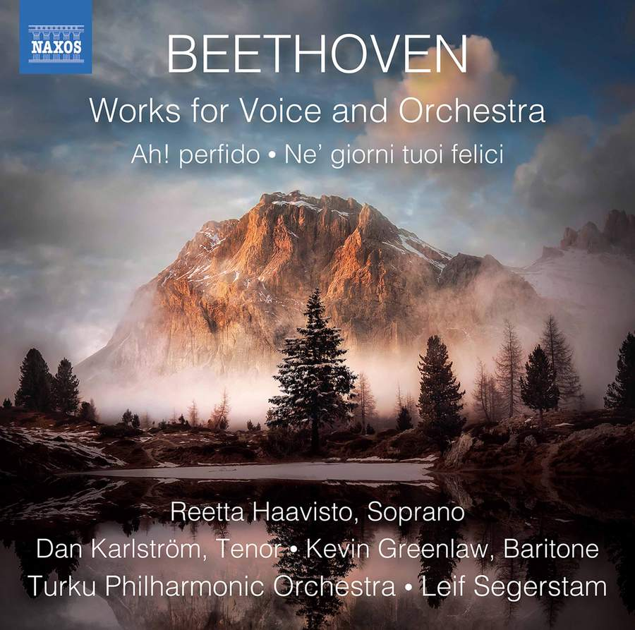 Beethoven: Works for Voice and Orchestra - Naxos: 8573882 - CD or download  | Presto Classical