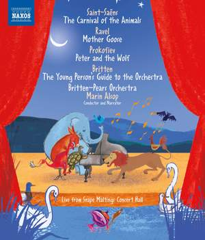 Saint-Saëns: The Carnival of the Animals Product Image