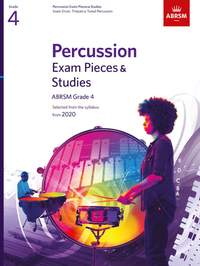 ABRSM Percussion Selected Exam Pieces & Studies from 2020, Grade 4