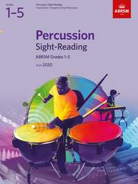 ABRSM Percussion Sight-Reading from 2020, Grades 1-5