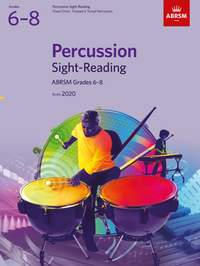 ABRSM Percussion Sight-Reading from 2020, Grades 6-8