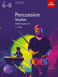 ABRSM Percussion Studies from 2020, Grades 6-8
