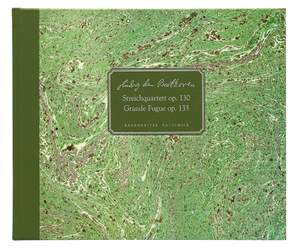 Beethoven, Ludwig van String Quartet in B-flat major op. 130 / Grande Fugue in B-flat major op. 133 Product Image