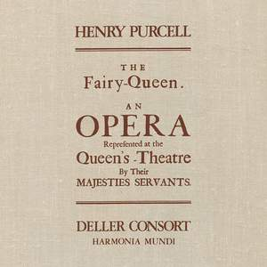 Purcell: The Fairy Queen - Vinyl Edition