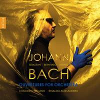 Johann S/Bernhard/Ludwig Bach: Ouvertures For Orchestra
